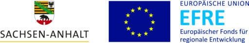 Sachsen-Anhalt-Signet Unionslogo Europäischer Fonds für regionale Entwicklung