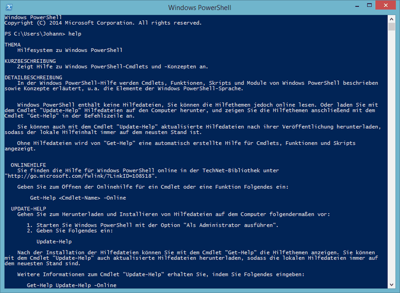 Powershell Screenshot