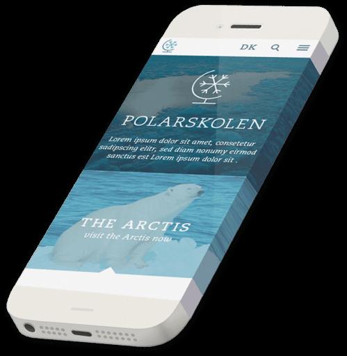 Smartphone Polarskolen