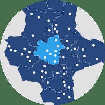 Referenzicon Interaktive STARK III Projektkarte